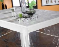 nappe transparente pour table carre